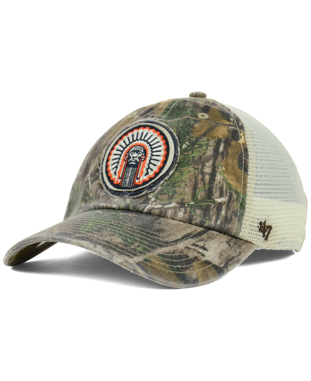 buy popular 75440 21645 ... double out 47 clean up cap 20968096 2018 new style 509d8 b53a0  germany lyst  47 brand illinois fighting illini ncaa closer cap for men ec97f 57677