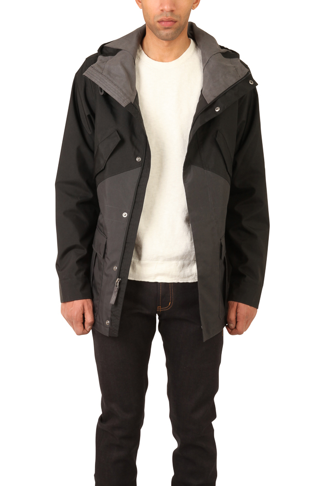Nike Midweight Fishtail Jacket in Black for Men