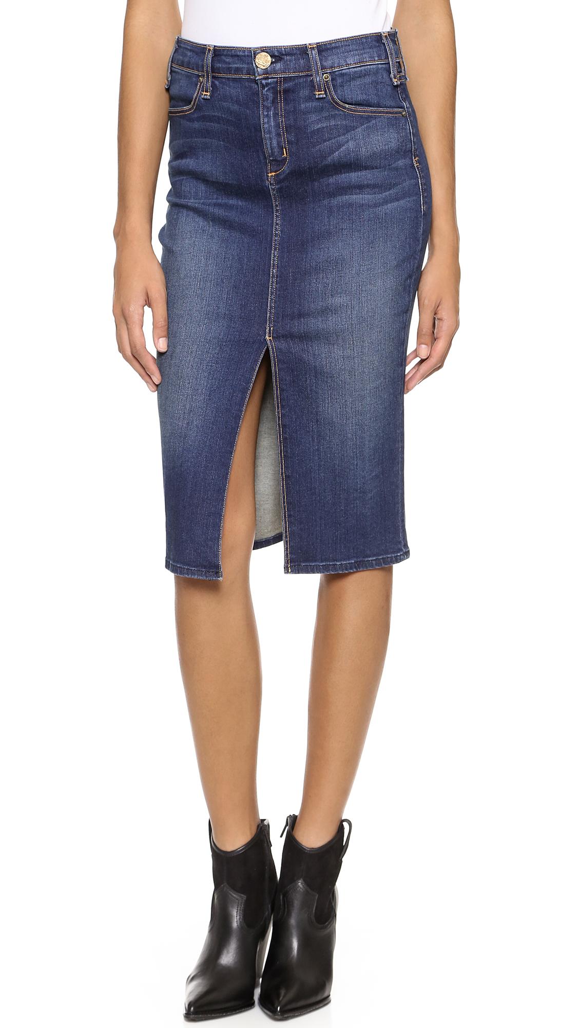 Mcguire denim Marino Skirt in Blue | Lyst
