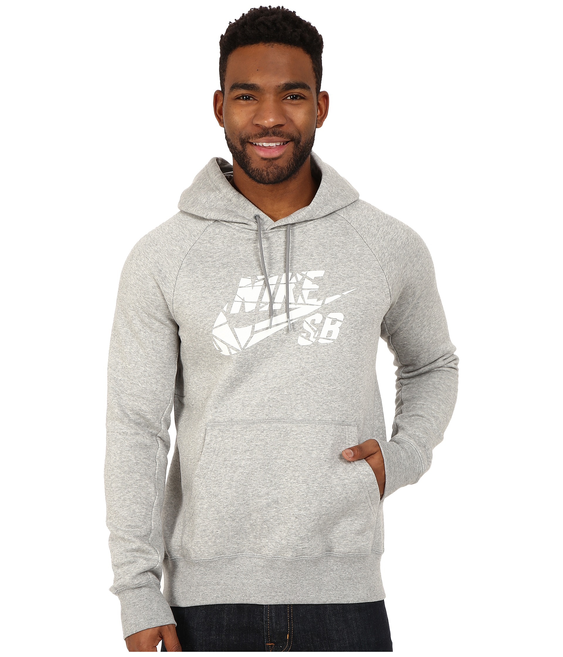 824b43af6 Nike Sb Icon Griptape Po Hoodie in Gray for Men - Lyst