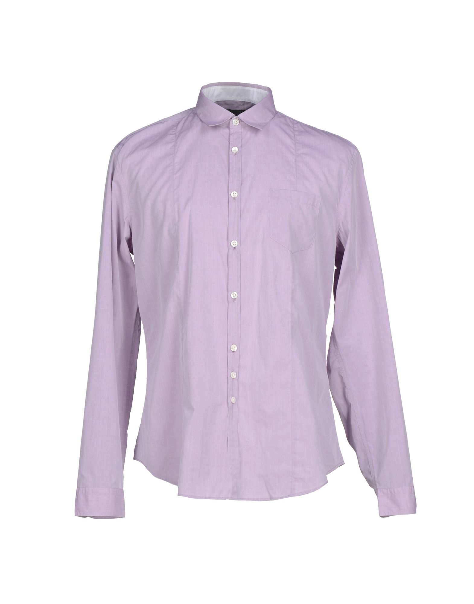 John varvatos purple shirt for men lyst Light purple dress shirt men