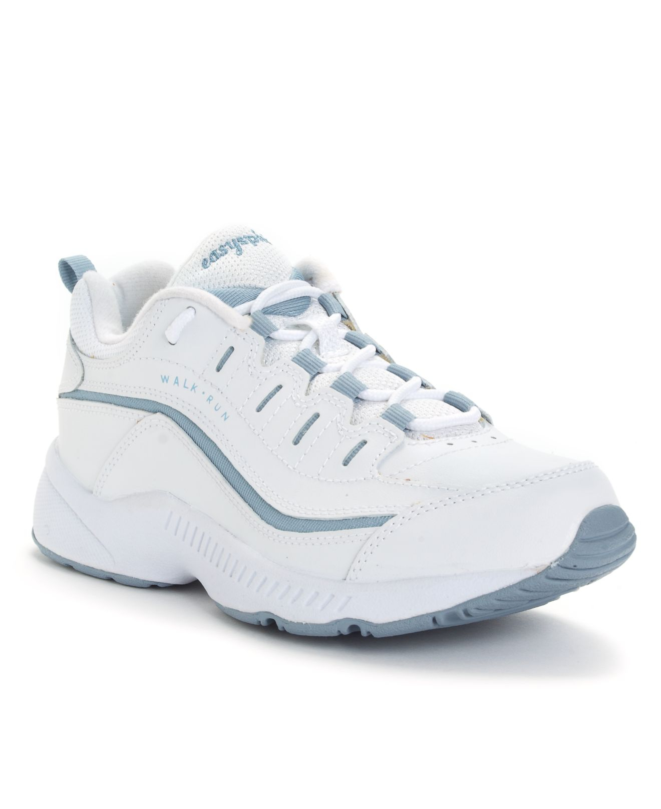 Easy Spirit Romy Sneakers In White White Medium Blue Lyst