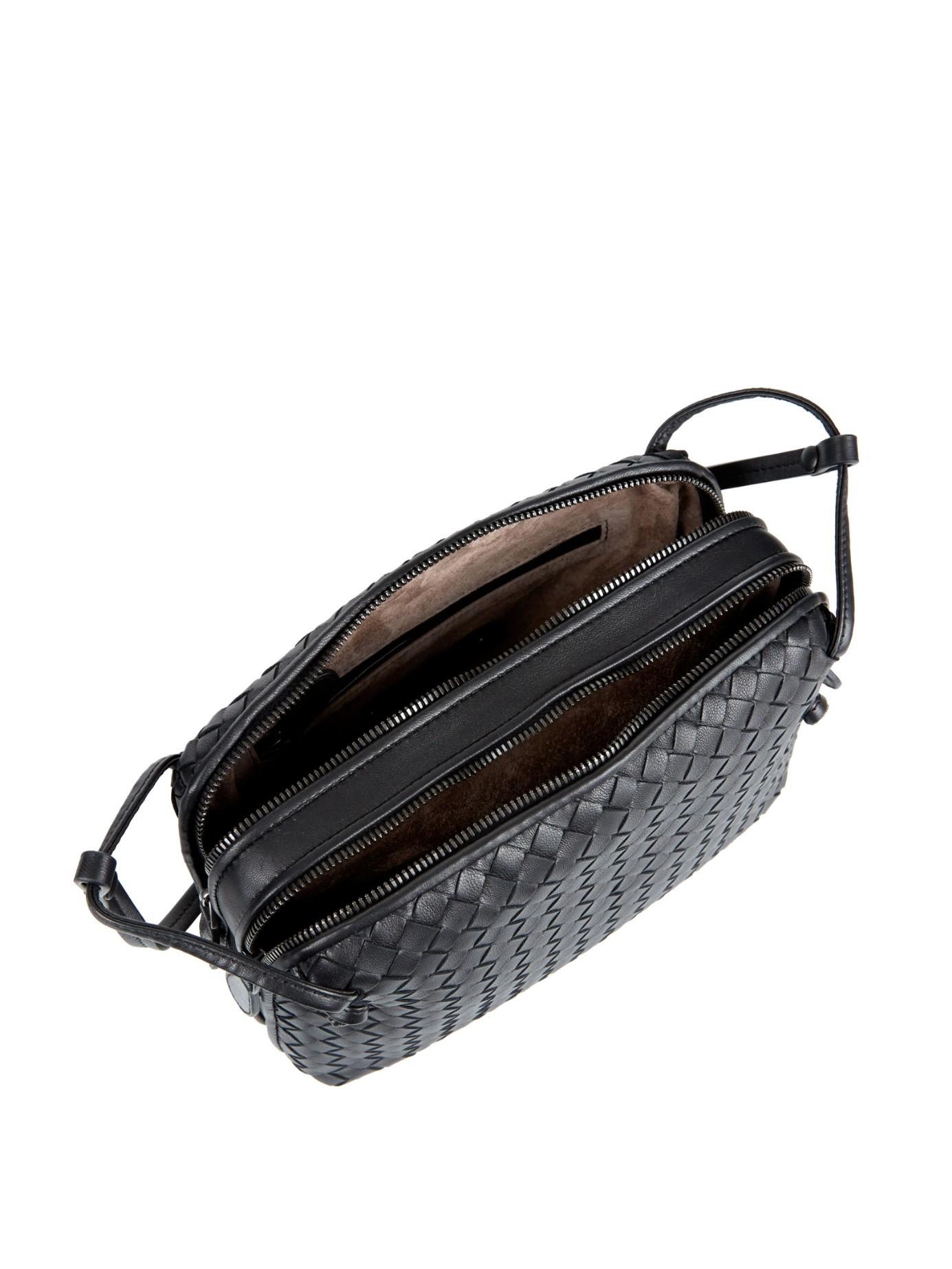 Lyst Bottega Veneta Intrecciato Leather Two Compartment