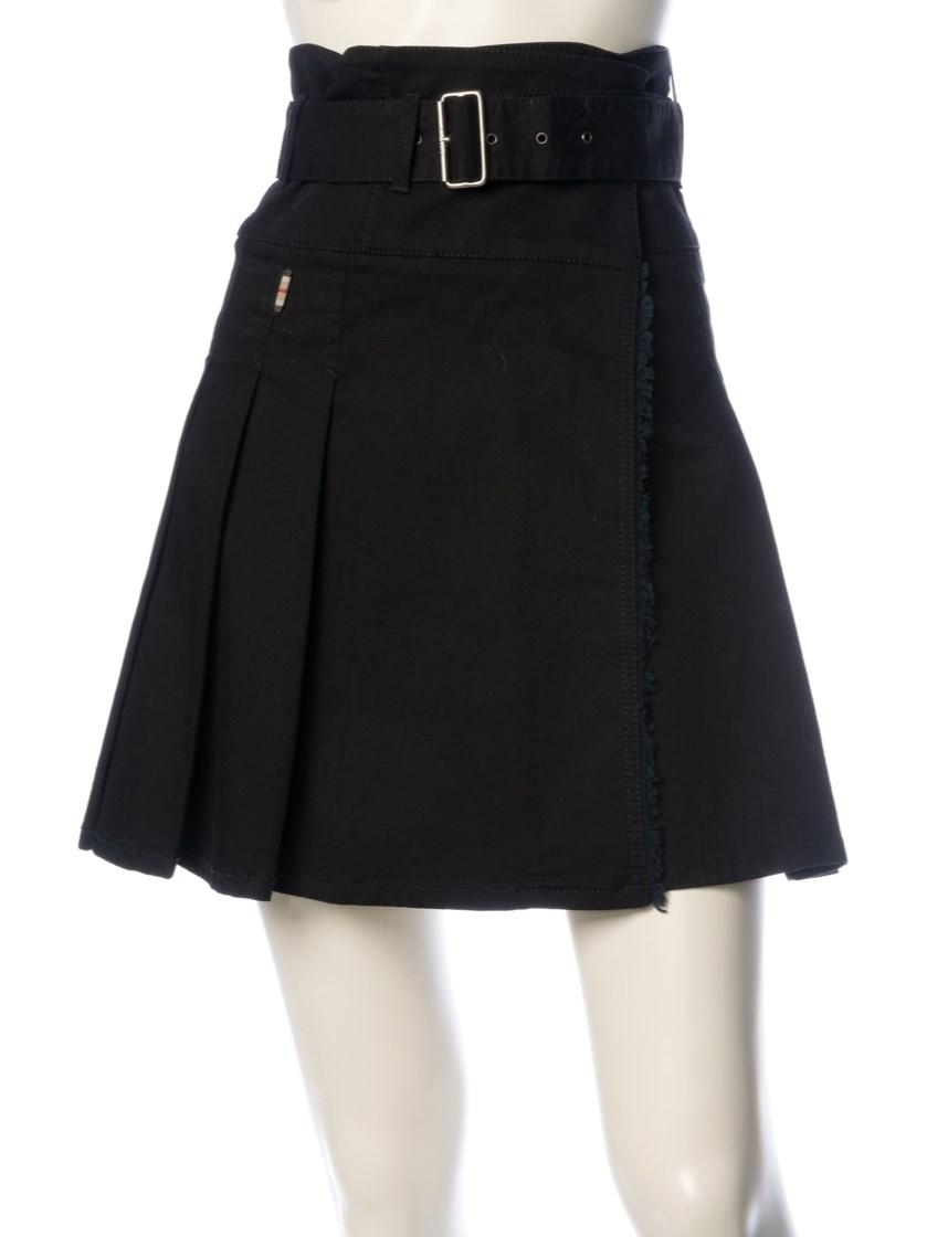 burberry skirt in black lyst