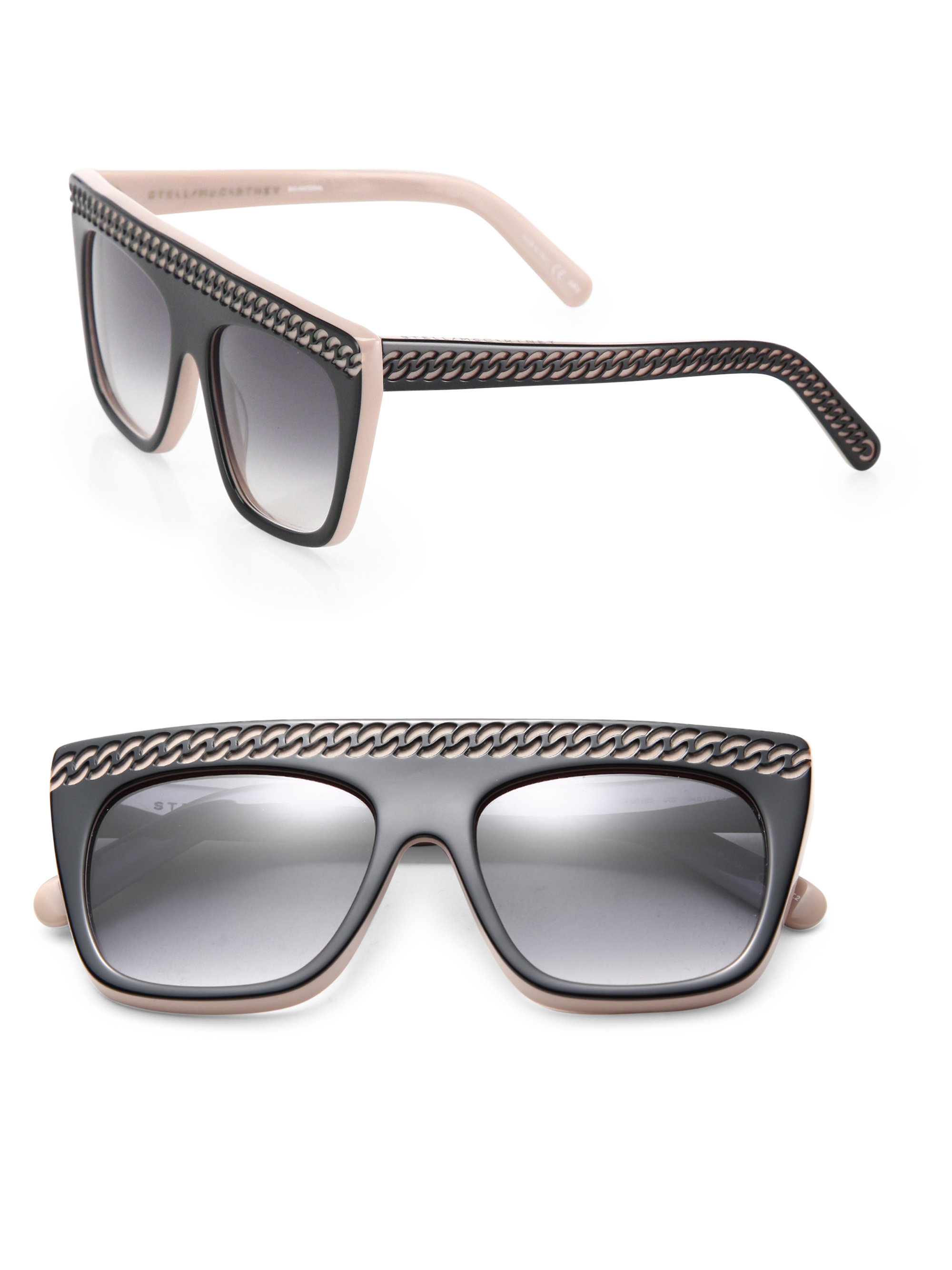 Chain Tassel square sunglasses Stella McCartney ksQEy