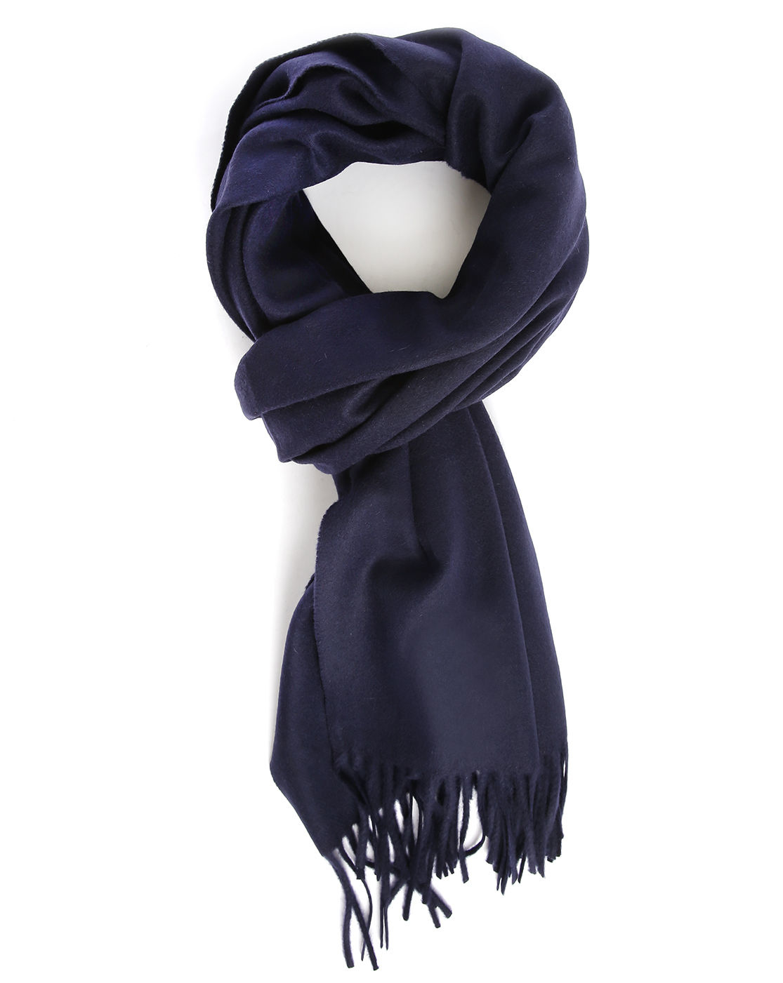 acne navy canada scarf in blue for lyst