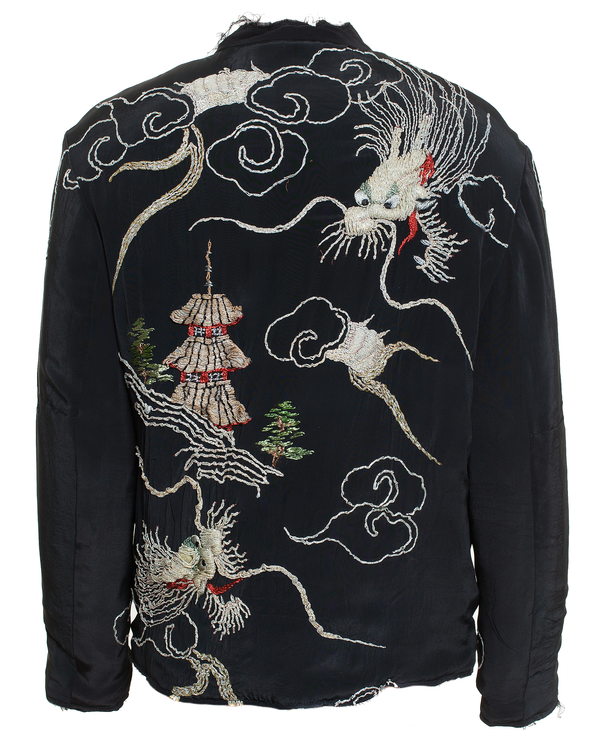 By walid dragon embroidered kimono jacket for men lyst