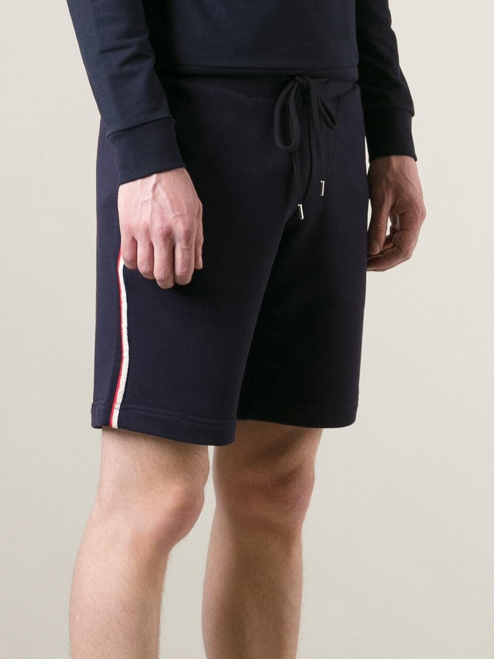 moncler jogger shorts
