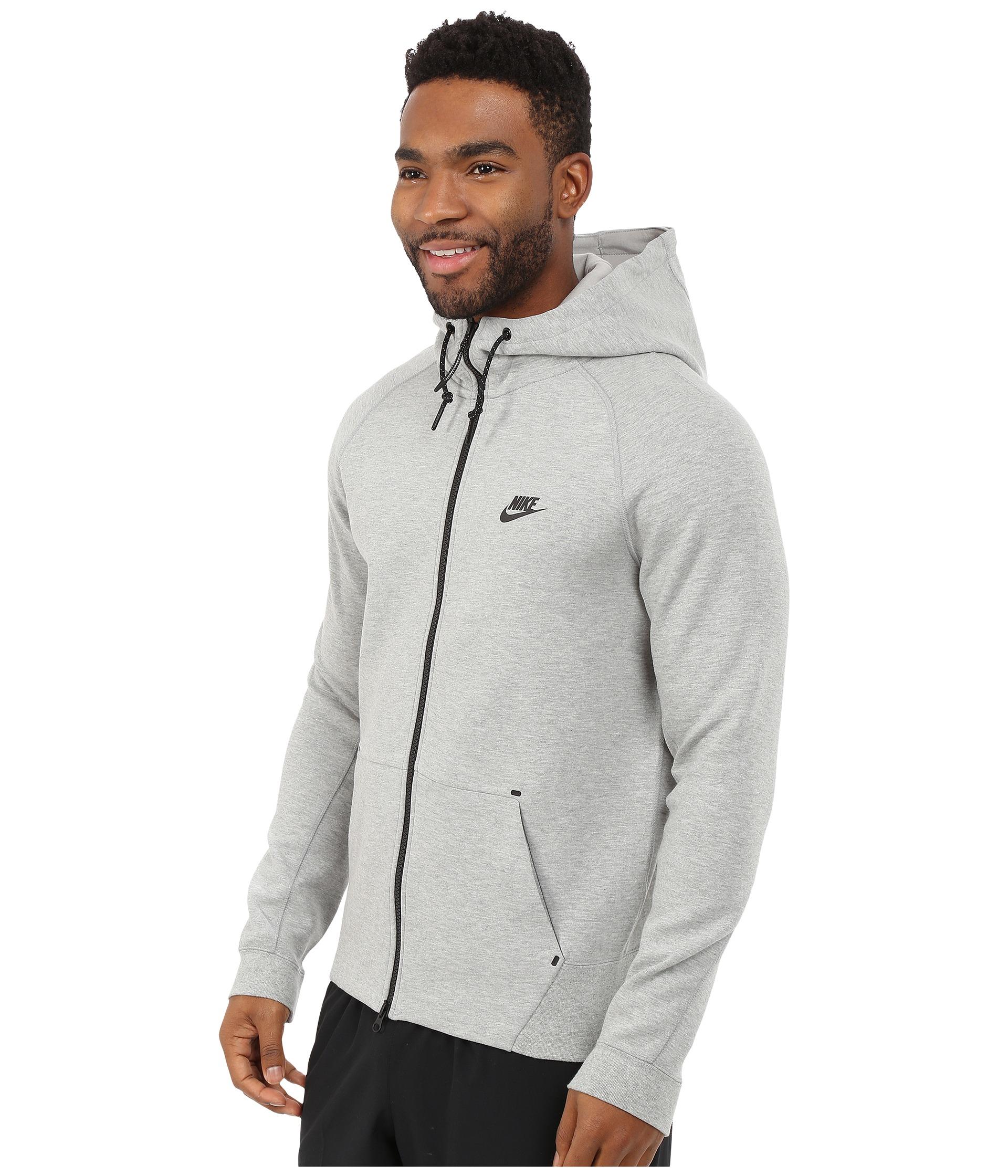 1940045bc9 Lyst - Nike Tech Fleece Aw77 1.0 Full-zip Hoodie in Gray for Men
