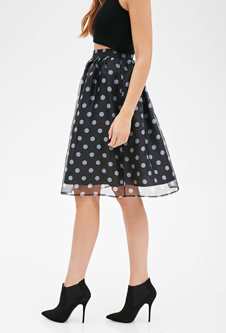 21 Flirty Polka Dot Skirts To Try This Summer photo