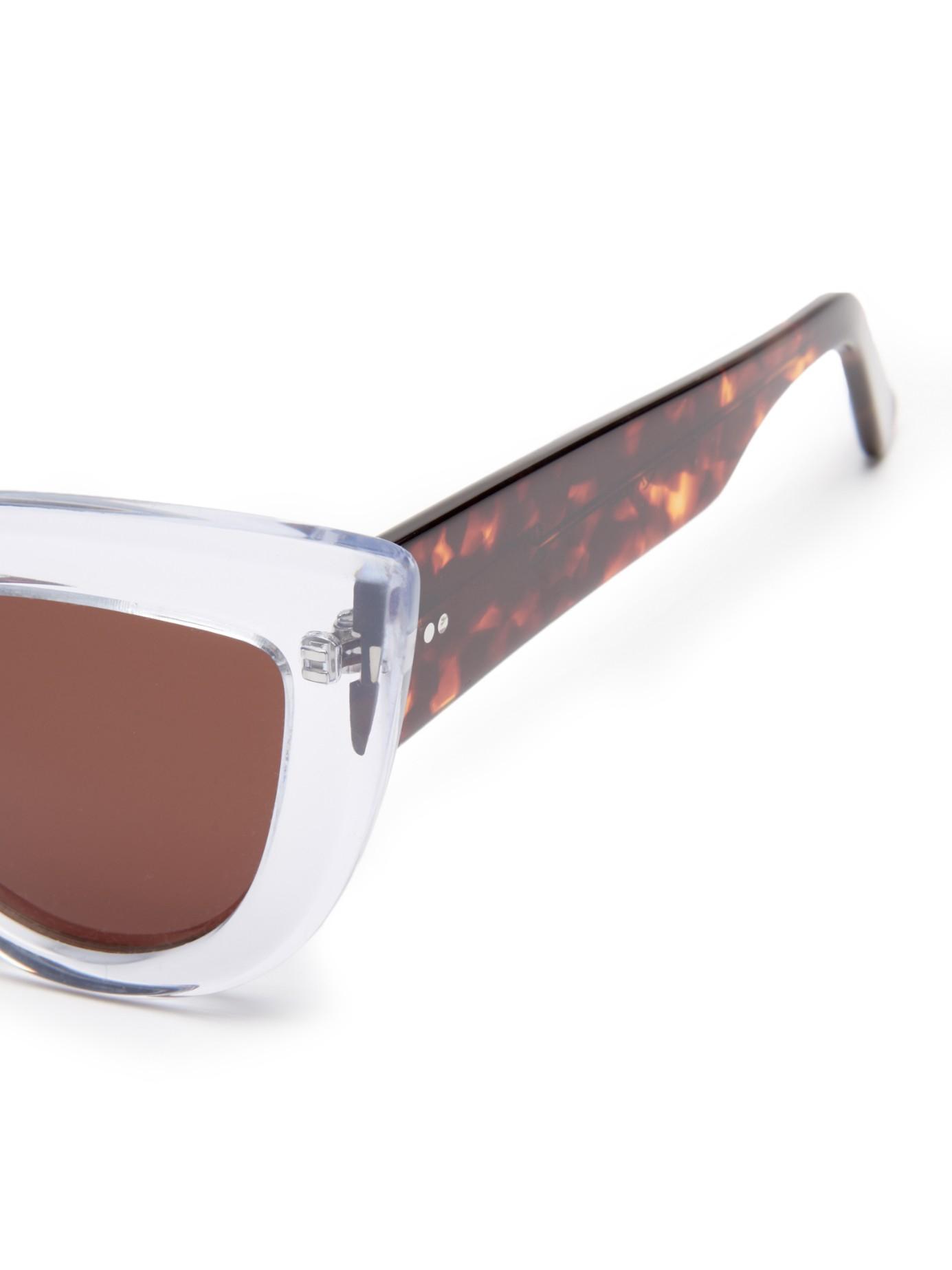 47984ab9fa Ellery Quixote Cat-eye Sunglasses - Lyst