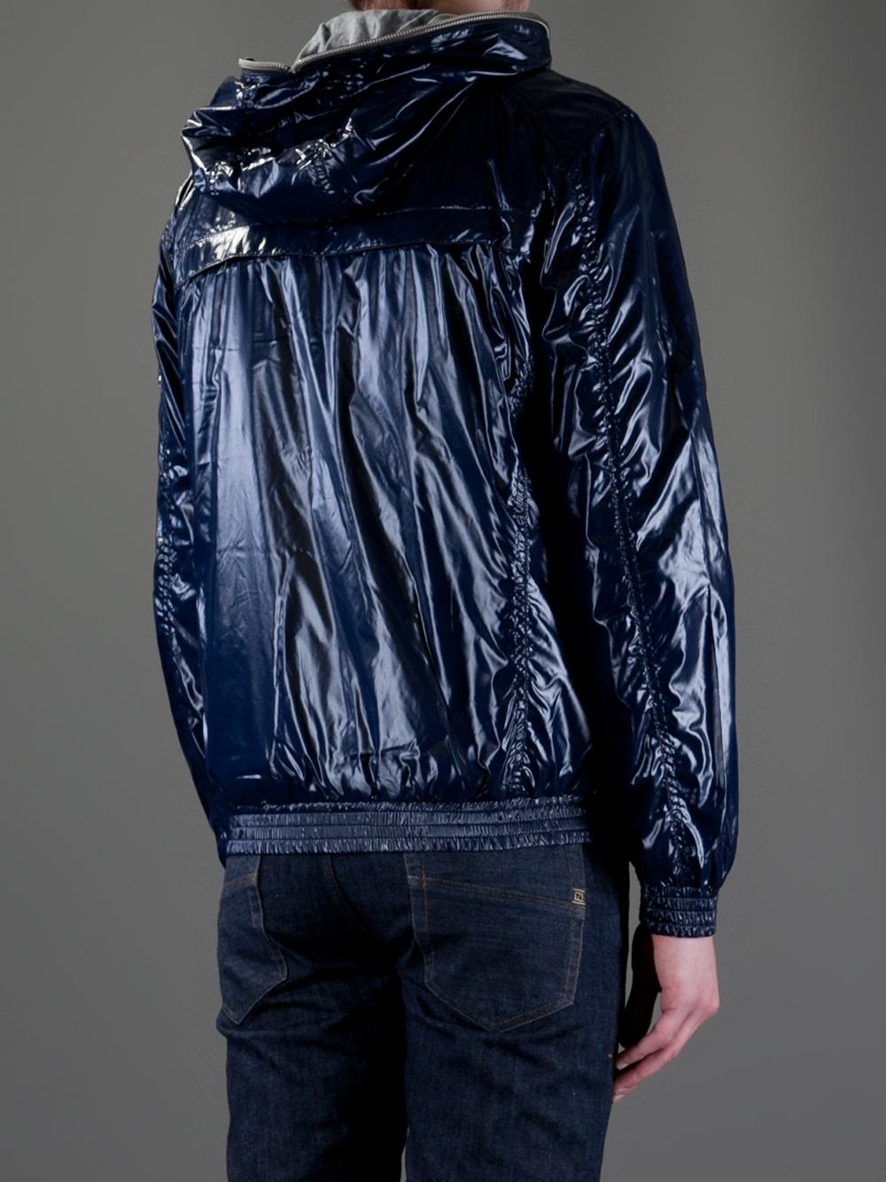 Lyst Duvetica Shiny Jacket In Blue For Men