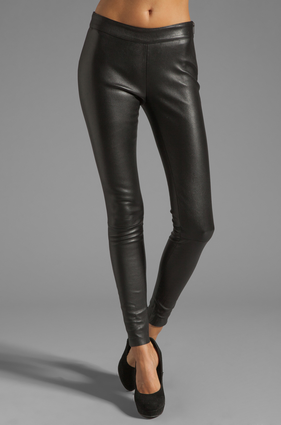 Mackage Leather Leggings