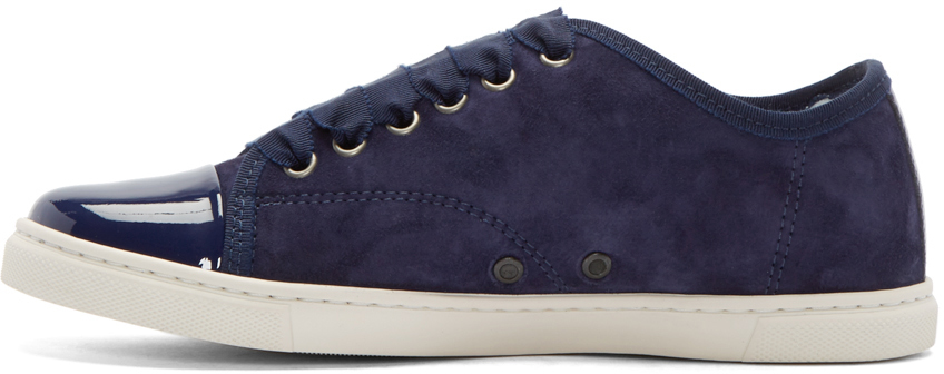 Lanvin Suede Trainers