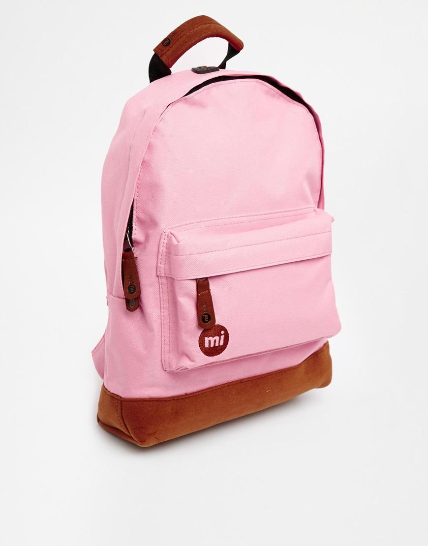 Lyst Mi Pac Mi Pac Mini Classic Backpack In Pink In Pink