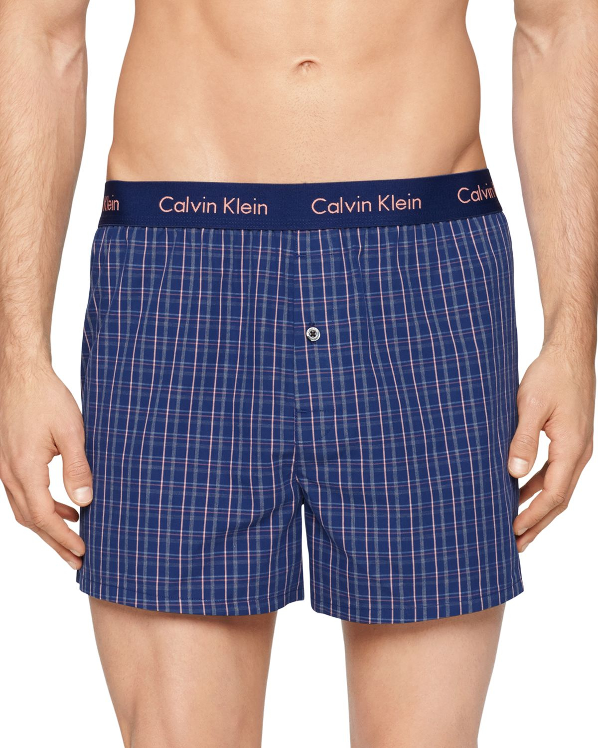 underwear boxers calvin klein underwear calvin klein blue cotton boxer male models picture. Black Bedroom Furniture Sets. Home Design Ideas