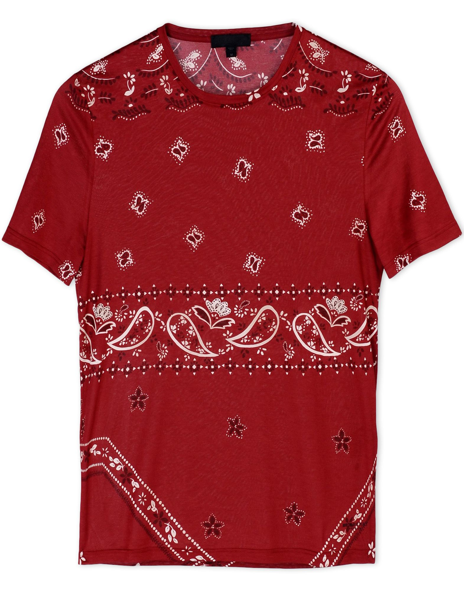 burberry prorsum short sleeve t shirt in red for men. Black Bedroom Furniture Sets. Home Design Ideas
