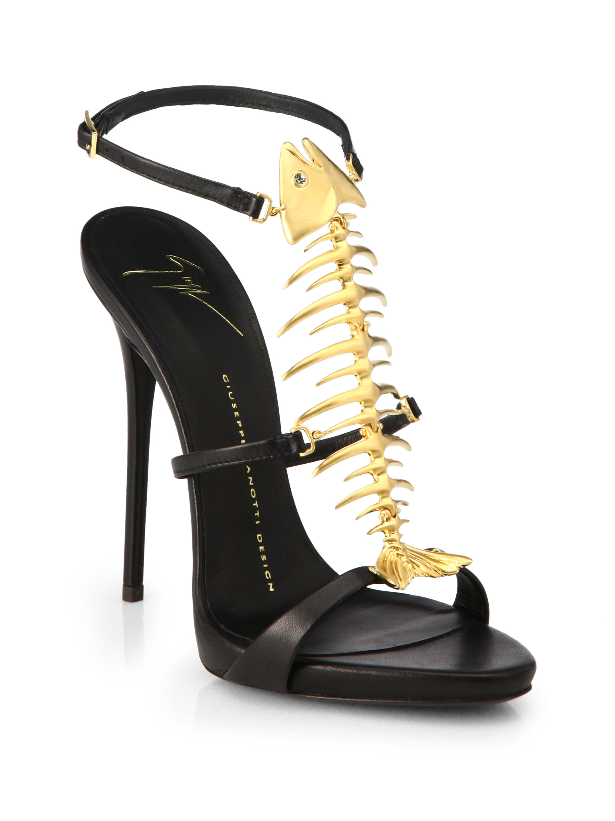 Skeleton Shoes Flats