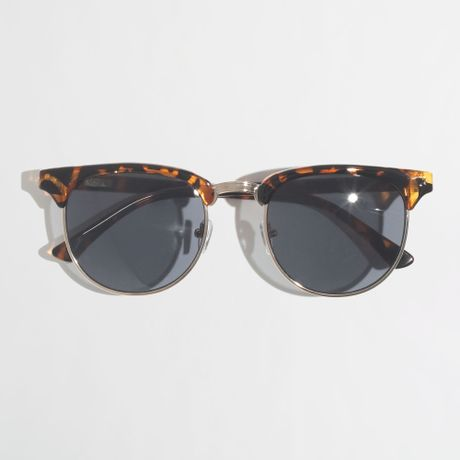 Big Gold Frame Sunglasses : J.crew Factory Retro Frame Sunglasses in Gold for Men ...