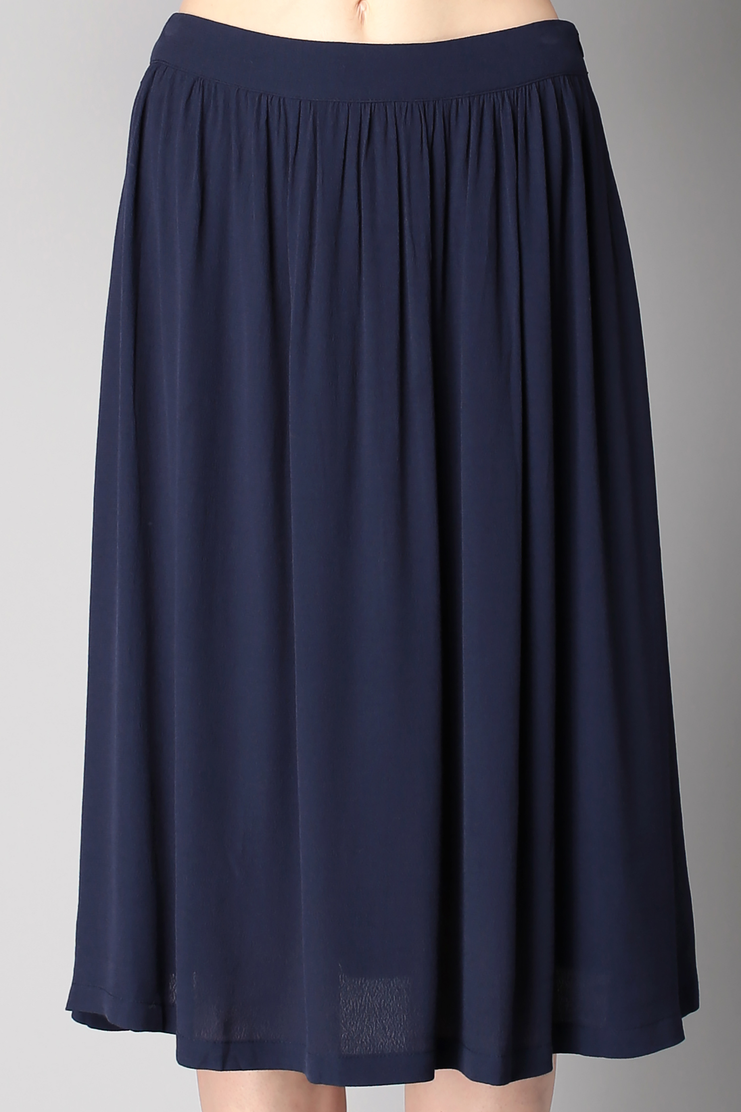 minimum midi skirt maxi skirt in blue lyst