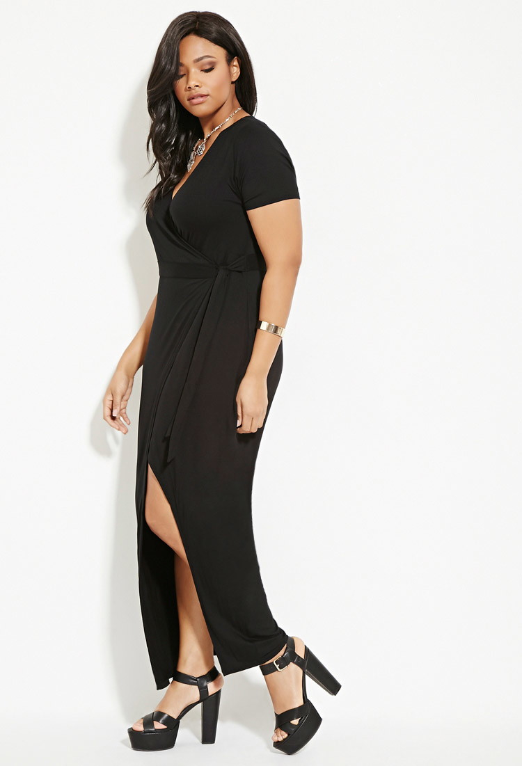 Forever 21 plus size maxi dresses