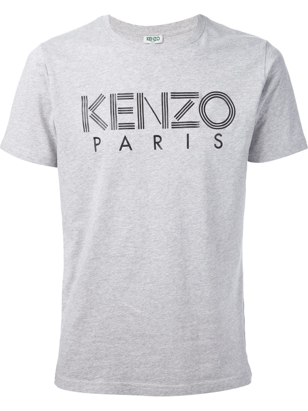 kenzo 39 paris 39 t shirt in gray for men lyst. Black Bedroom Furniture Sets. Home Design Ideas
