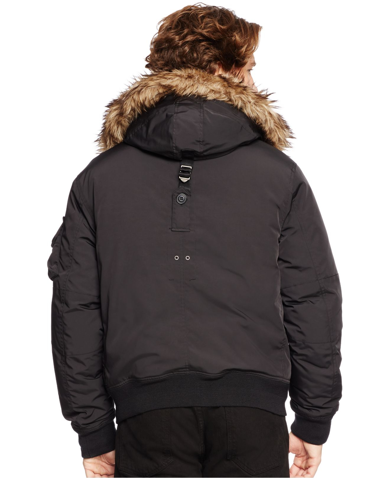 Lyst - Polo Ralph Lauren Holter Down Bomber Jacket in ...