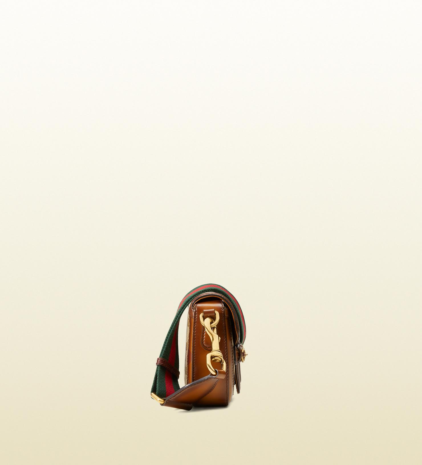1e6e1ce13c782 Lyst - Gucci Lady Web Original Gg Canvas Shoulder Bag in Brown