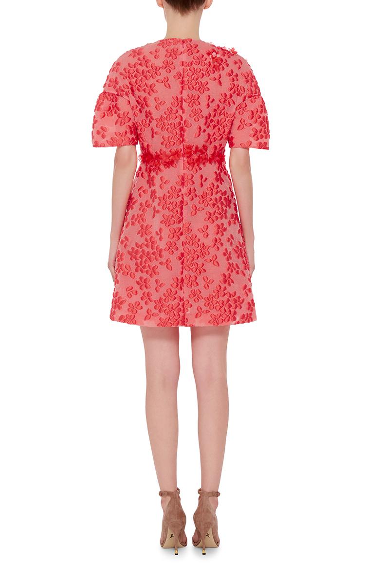 Lyst giambattista valli silk blend floral embroidered
