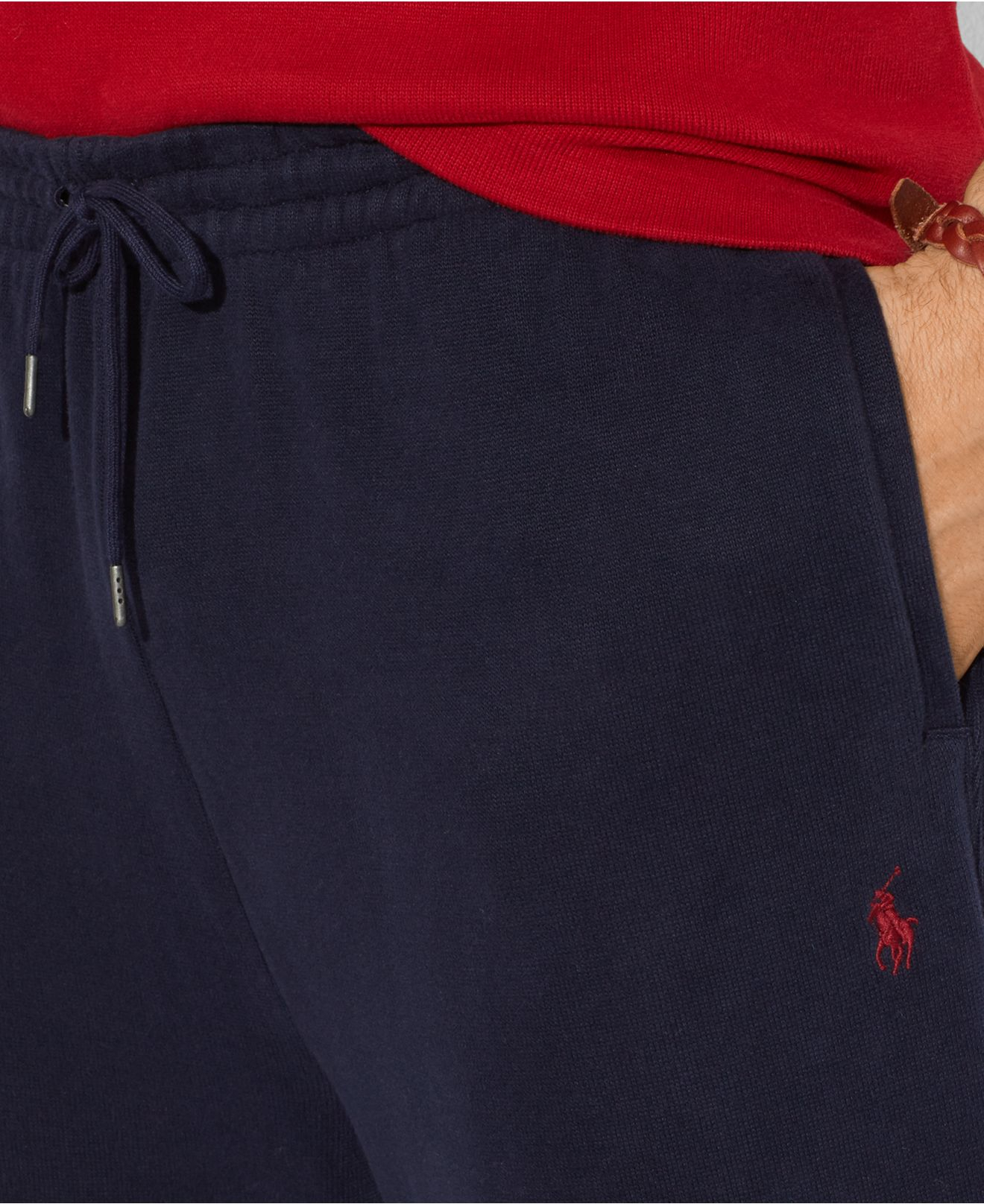 8cae6c8f1 Polo Ralph Lauren Big And Tall French-Rib Sweatpants in Blue for Men ...