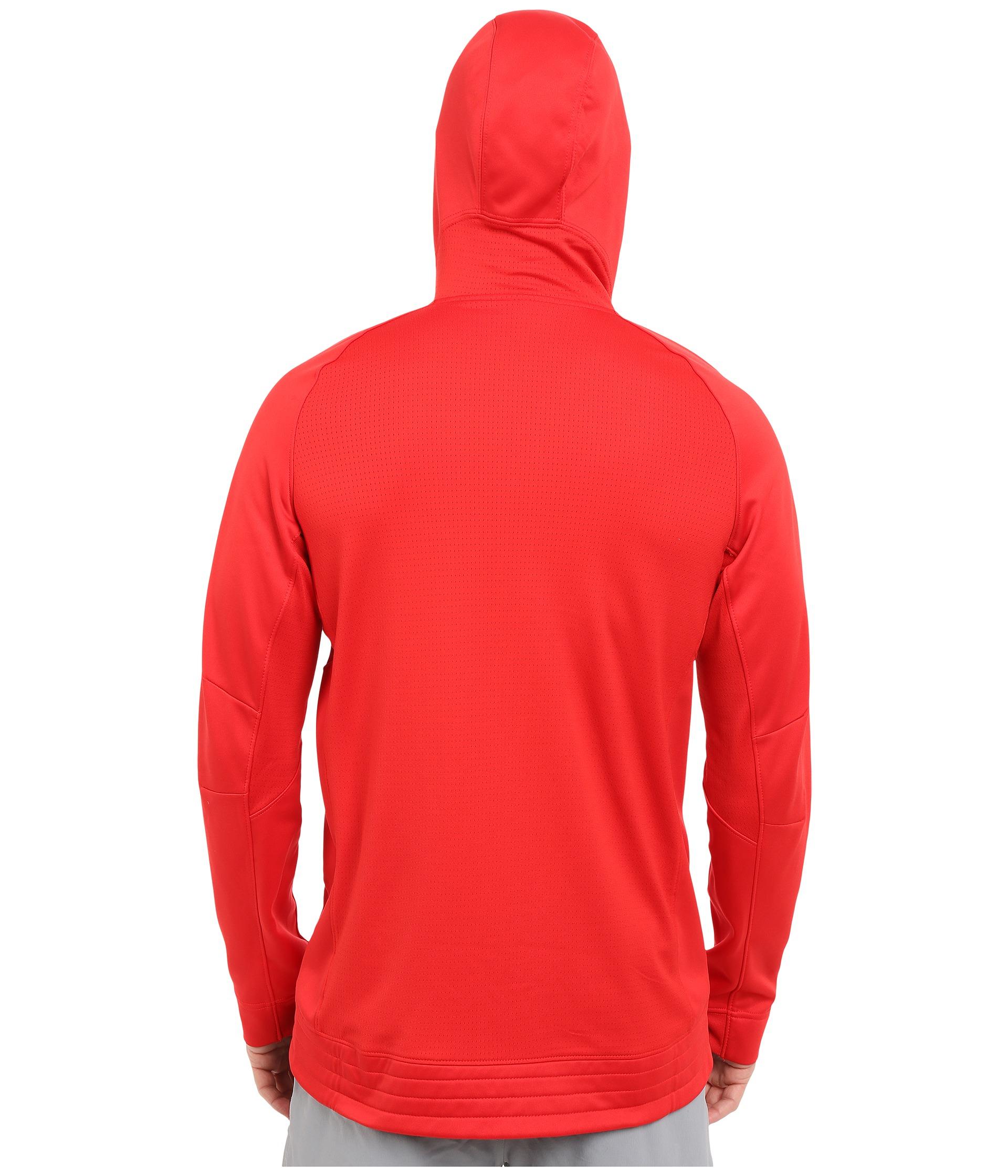 Nike Elite Stripe Hoodie In Red For Men Lyst
