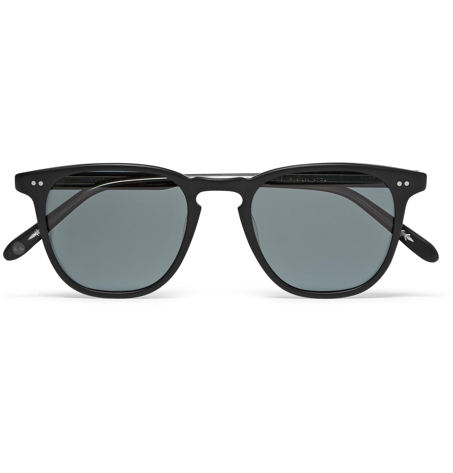 Round In Sunglasses Garrett Brooks Polarised Acetate Frame Leight qwfTE