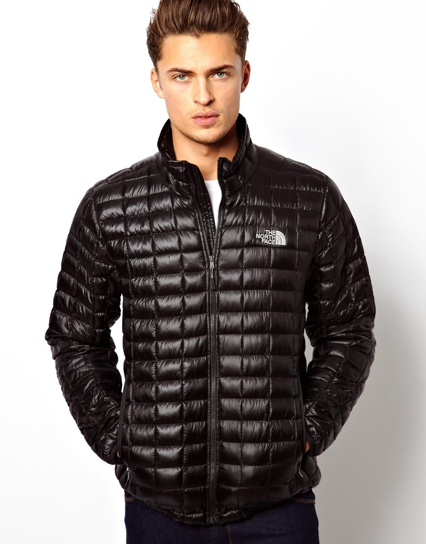 The north face Thermoball Jacket in Black for Men | Lyst