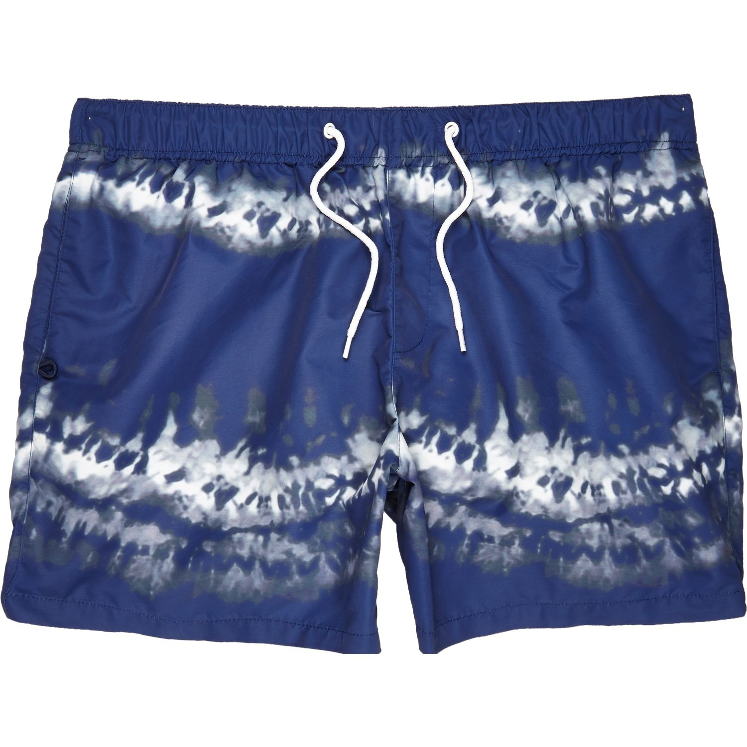 Lyst river island navy tie dye swim shorts in blue for men for Nike tie dye shirt and shorts