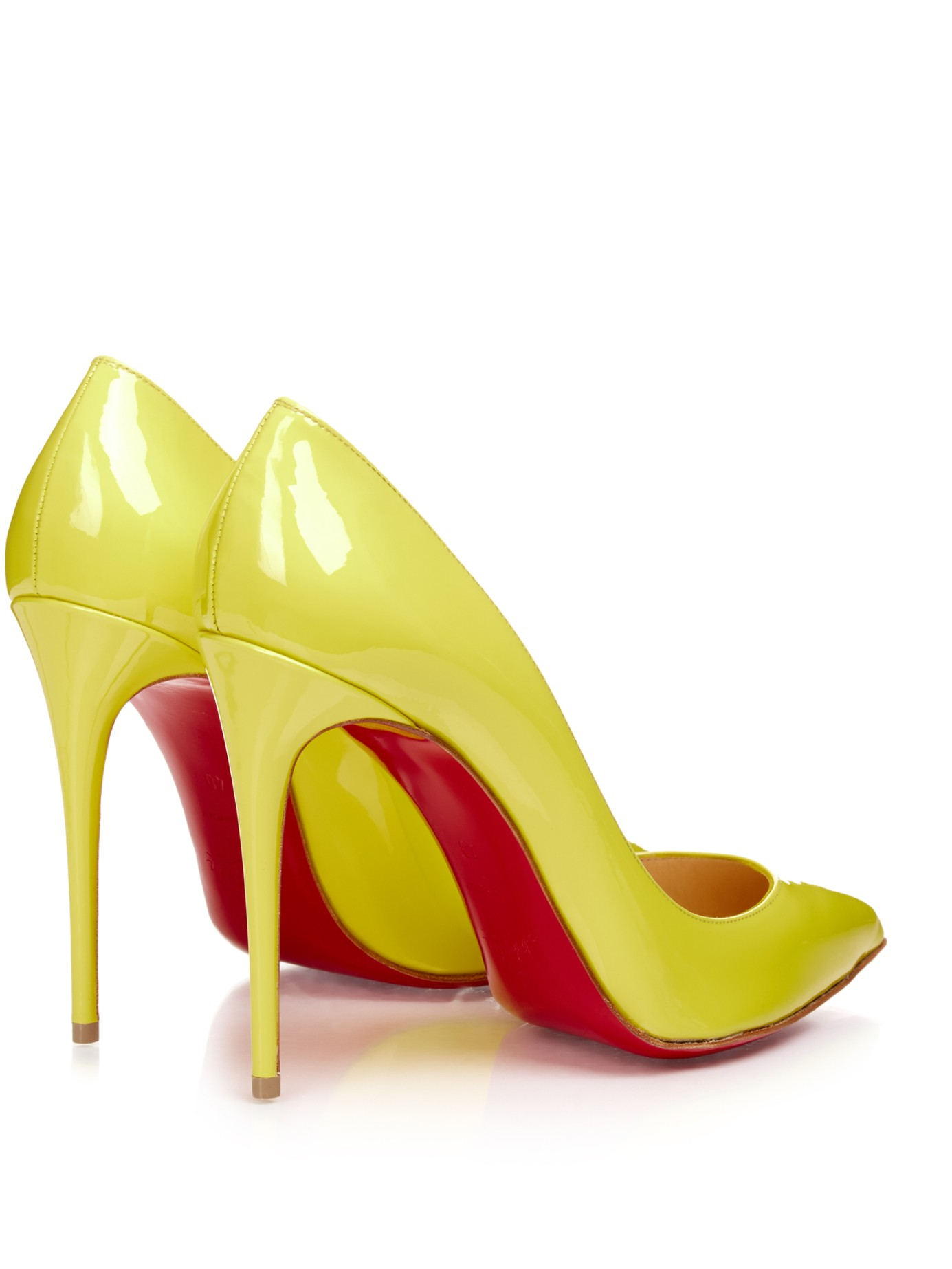 f1d113c24 Gallery. Previously sold at: MATCHESFASHION.COM · Women's Yellow Heels  Women's Christian Louboutin ...