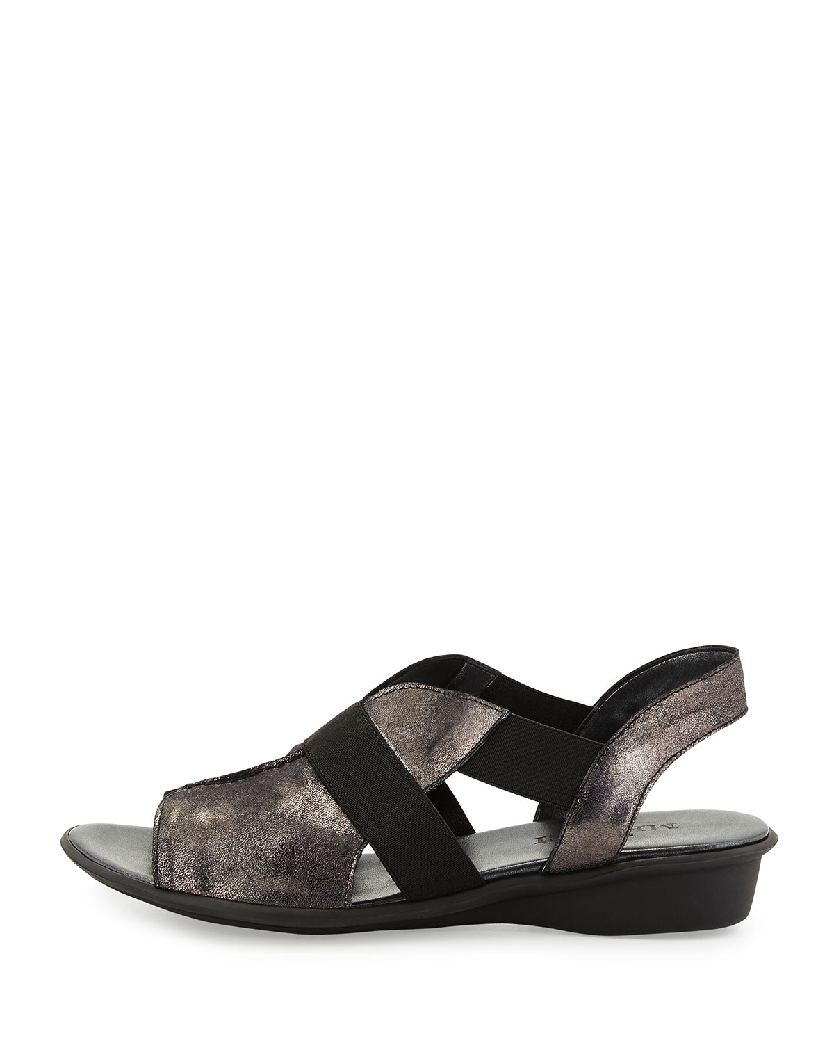Sesto Meucci Estelle Metallic Sandals In Multicolor Lyst