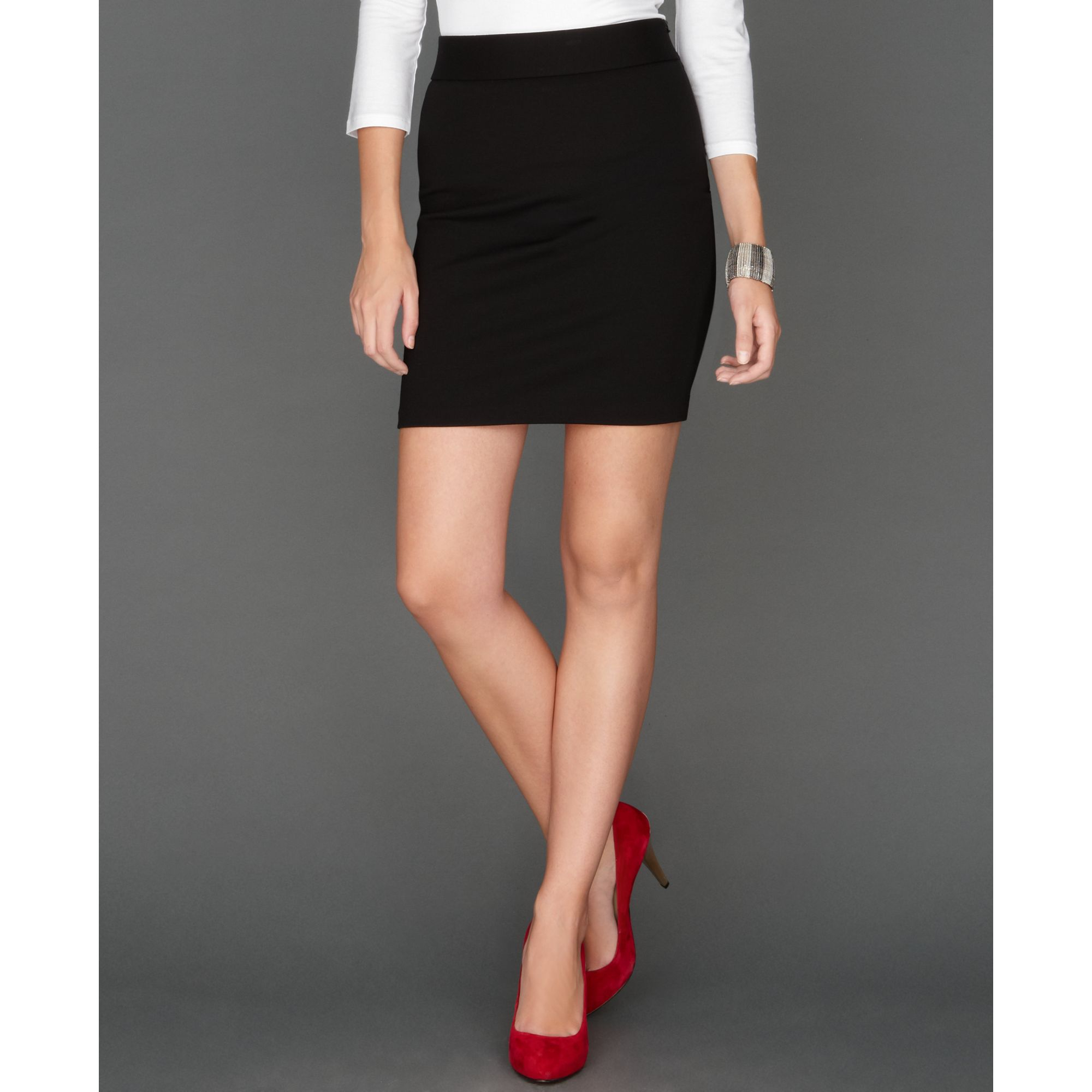 inc international concepts skirt mini pencil in