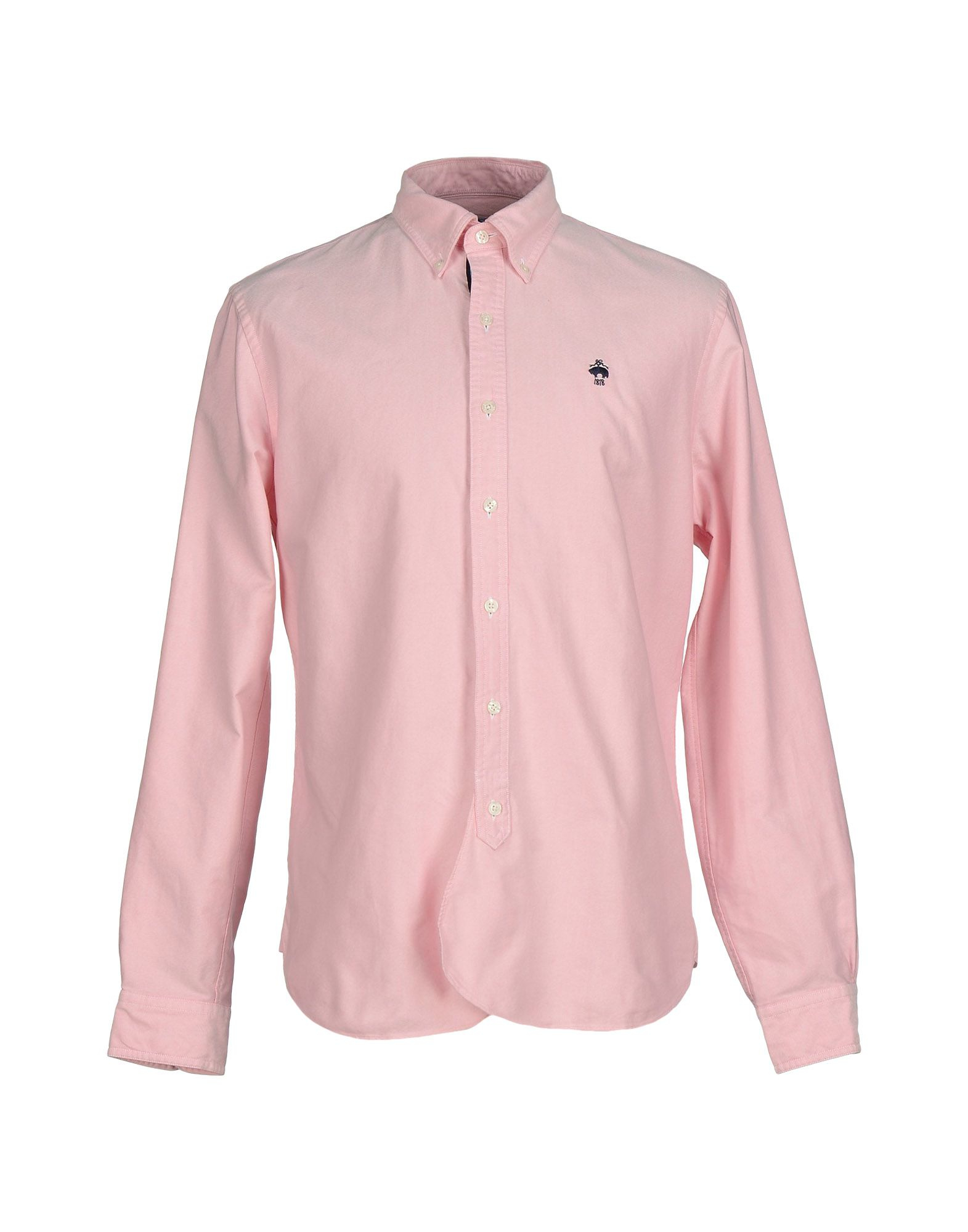 Brooks brothers shirt in pink for men lyst for Brooks brothers boys shirts
