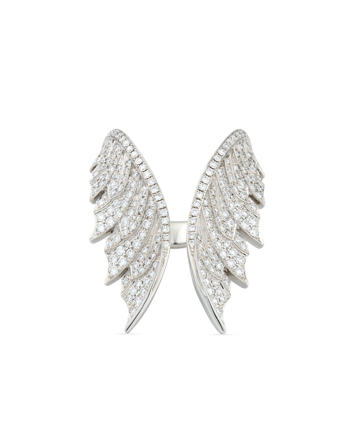 Stephen Webster Magnipheasant White Diamond Open Wing Ring