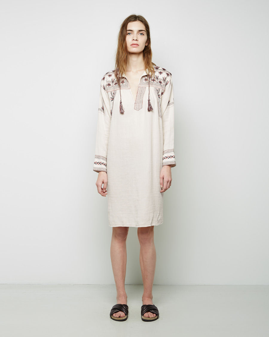 Toile Isabel Marant Viola Dress In Natural Lyst
