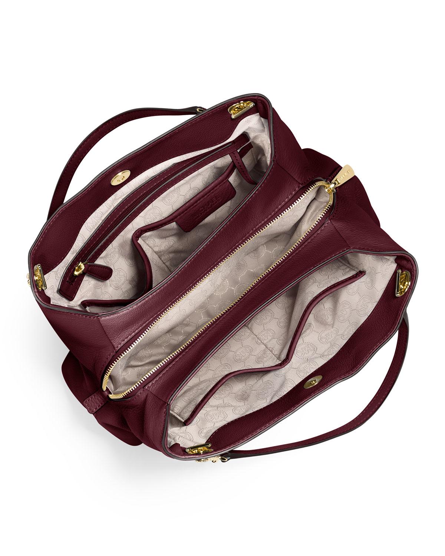 02ca1b379987 MICHAEL Michael Kors Jet Set Chain Large Shoulder Bag in Purple - Lyst