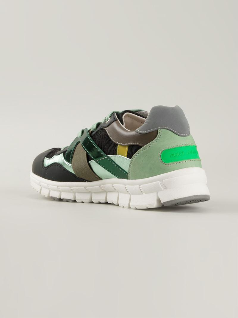 Dolce & Gabbana Panelled sneakers 5IWcVu7Q