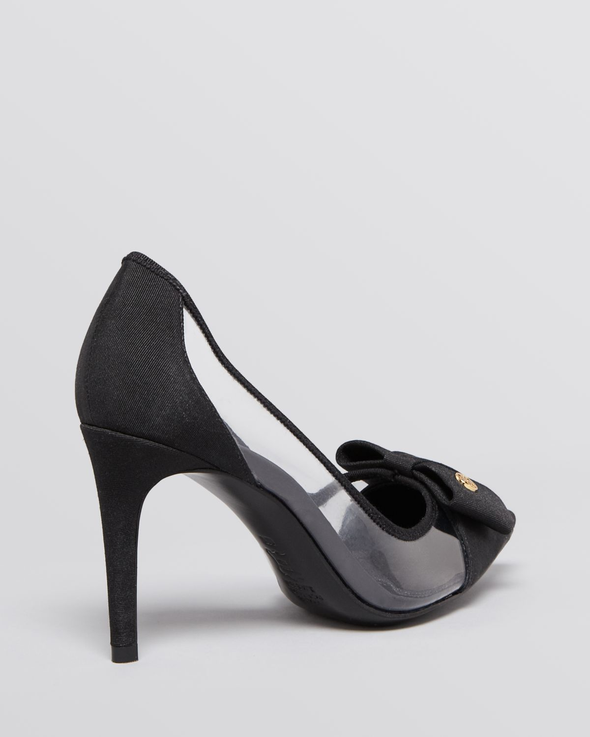 18cdc8690f18 Lyst - Tory Burch Pointed Toe Cap Toe Pumps Aimee High Heel in Black