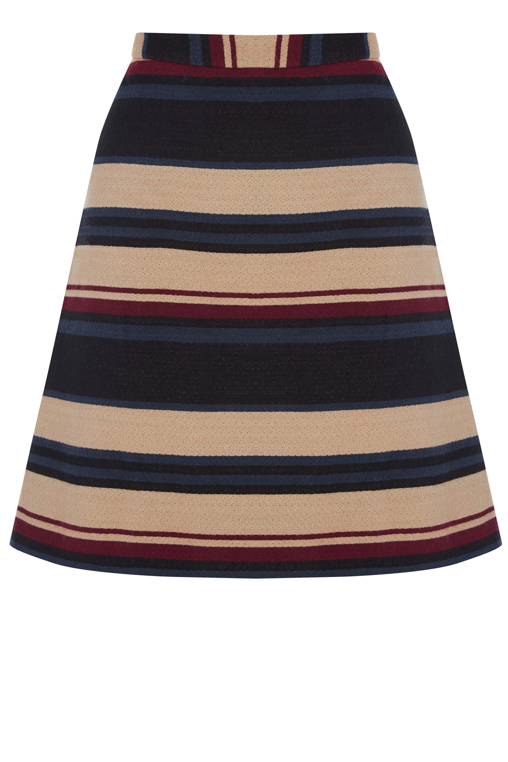da1ae571d Oasis Stripe Hattie Mini Skirt in Natural - Lyst