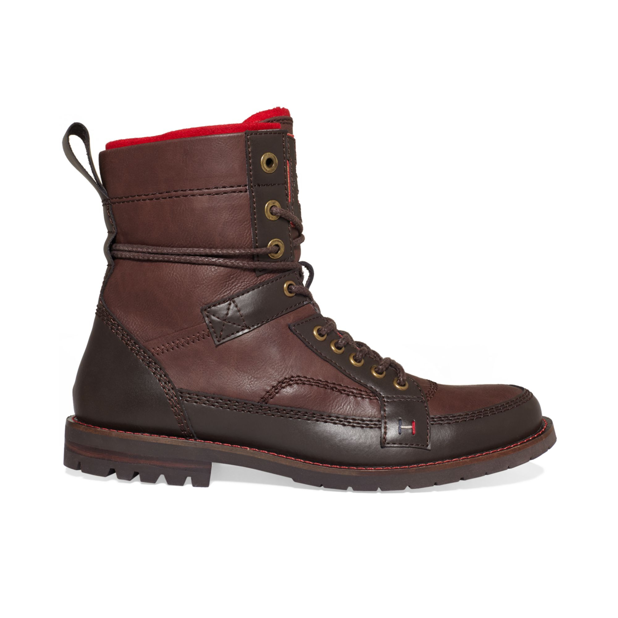 Tommy Hilfiger Brutus Boots In Brown For Men Lyst