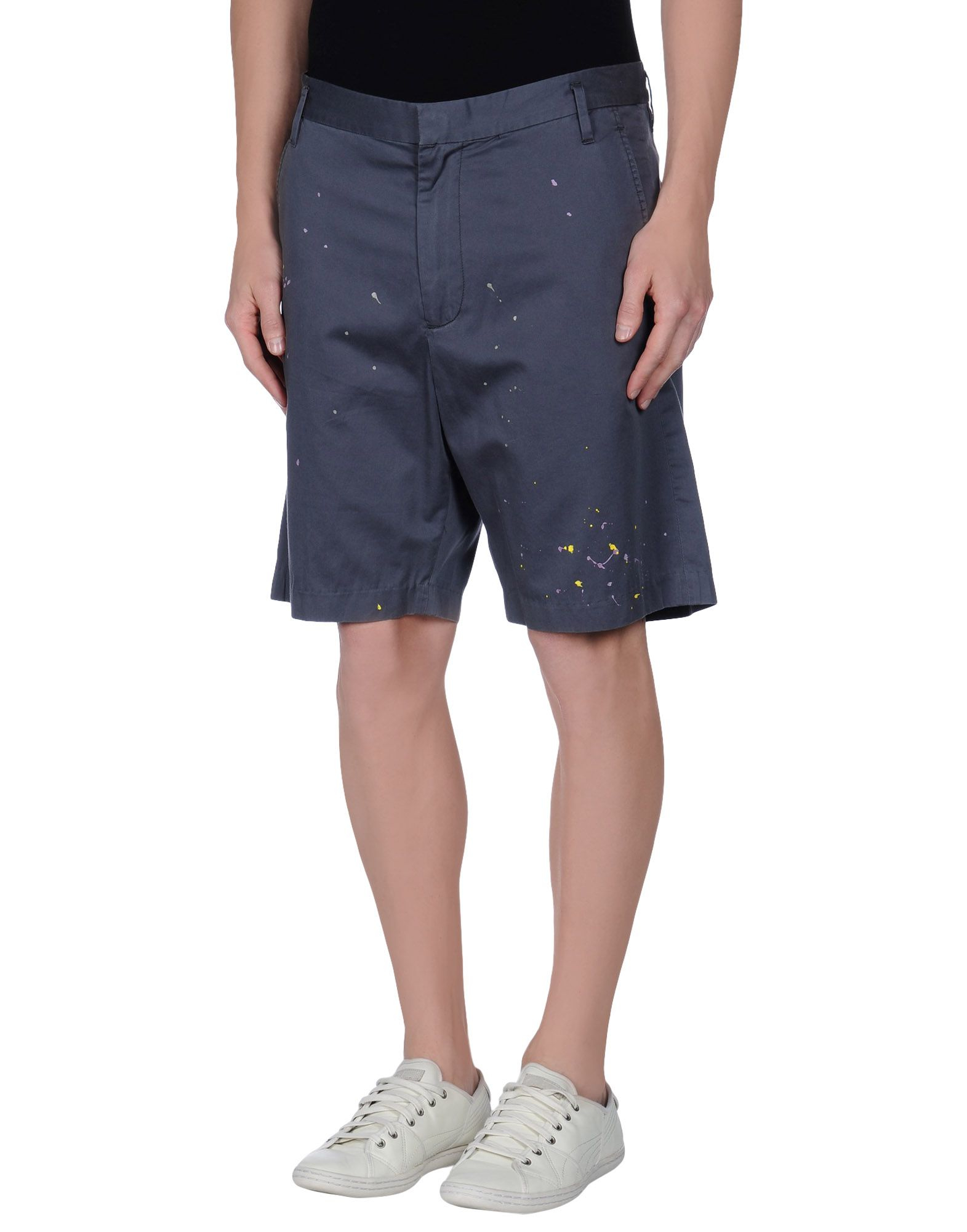 Marc by marc jacobs Bermuda Shorts in Gray for Men | Lyst