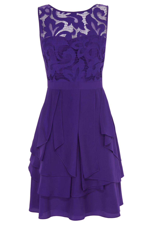 Lyst Coast Daymee Dress In Purple