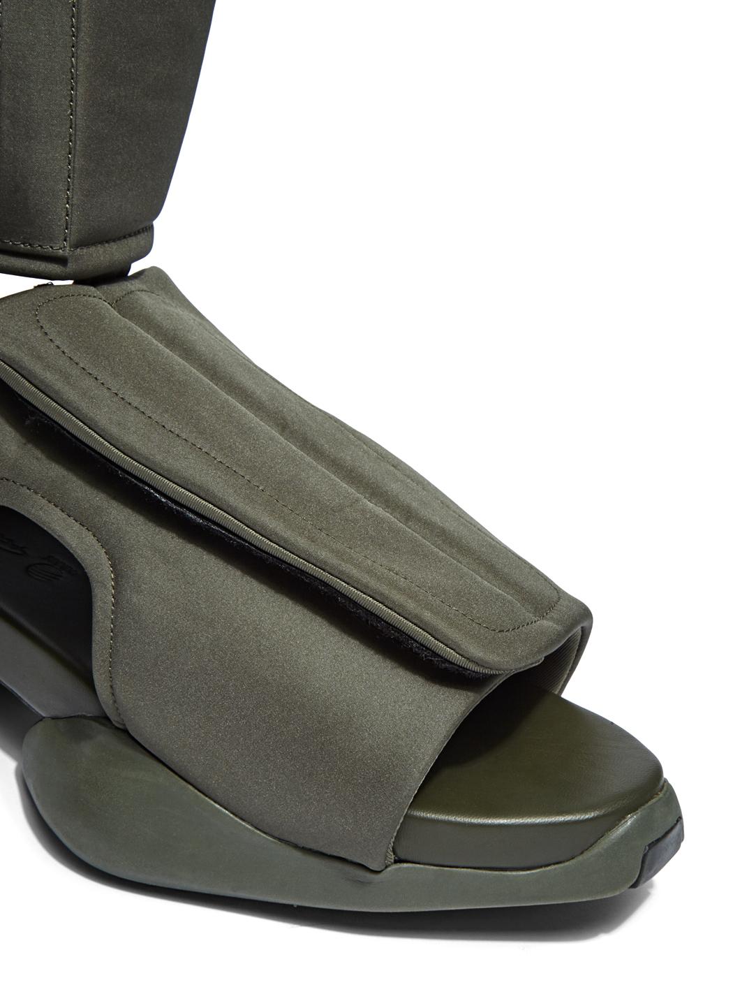65350175c Rick Owens X Adidas Men s Velcro Strap Ro Cargo Sandals In Khaki in ...