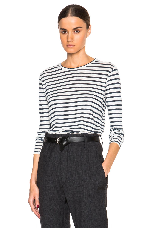 Étoile Isabel Marant Pleated Long Sleeve Top Cheap Sale Outlet IzJOmbFy2