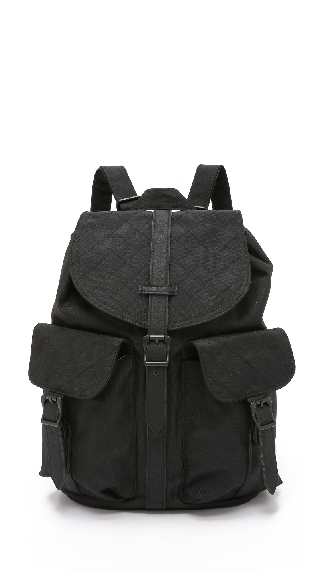 627956a21f Lyst - Herschel Supply Co. Quilted Dawson Backpack - Black in Black